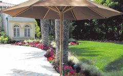 Wooden Patio Umbrellas