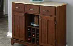 """Presswood Traditional 41.75"""" Wide 3 Drawer Wood Drawer Servers"""