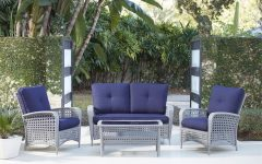 Resin Wicker Patio Conversation Sets