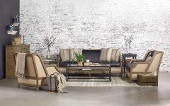 Magnolia Home Foundation Leather Sofa Chairs