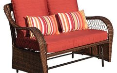 2 Person Loveseat Chair Patio Porch Swings With Rocker