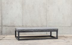 Chiseled Edge Coffee Tables