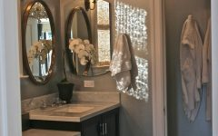 Crystal Chandelier Bathroom Lighting