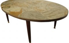 Mid-Century Modern Marble Coffee Tables