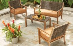 Patio Conversation Sets with Cushions