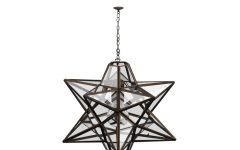1-light Single Star Pendants