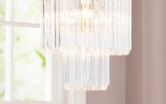 Benedetto 5-Light Crystal Chandeliers