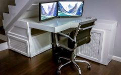 Computer Desks Under Stairs