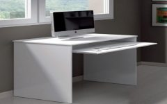 Computer Desks In White