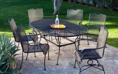Wrought Iron Patio Conversation Sets