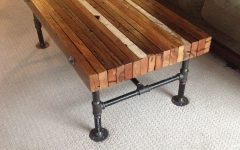 Pine Metal Tube Coffee Tables