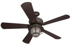 Outdoor Ceiling Fans with Light and Remote