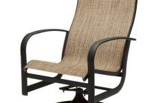 Sling High Back Swivel Chairs