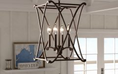 Nisbet 4-light Lantern Geometric Pendants