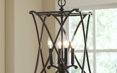 Nisbet 6-Light Lantern Geometric Pendants