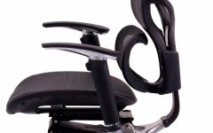 Executive Office Chairs with Adjustable Lumbar Support