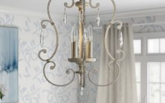 Oriana 4-Light Single Geometric Chandeliers