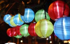 Outdoor Ball Lanterns
