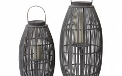 Outdoor Bamboo Lanterns
