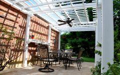 Outdoor Ceiling Fans for Pergola