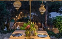 Outdoor Dining Lanterns