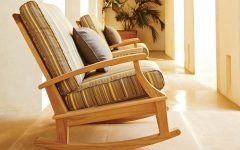 Teak Patio Rocking Chairs