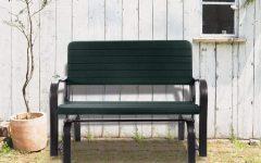 Outdoor Patio Swing Porch Rocker Glider Benches Loveseat Garden Seat Steel