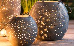 Outdoor Round Lanterns