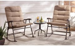 Padded Patio Rocking Chairs