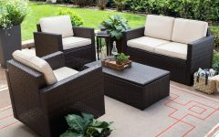 Patio Conversation Set with Storage