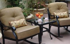 Patio Conversation Sets with Rockers