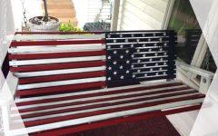 American Flag Porch Swings