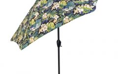 Patterned Patio Umbrellas