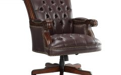 Nailhead Executive Office Chairs