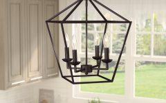 Carmen 4-light Lantern Geometric Pendants