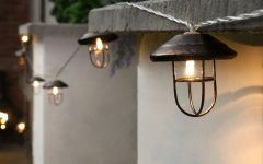 Outdoor Lanterns with Battery Operated