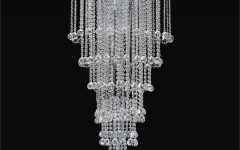 Waterfall Crystal Chandelier