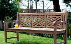 Brecken Teak Garden Benches