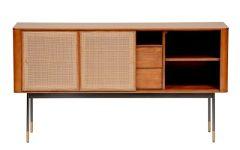 "Ebenezer 59.06"" Wide 3 Drawer Sideboards"