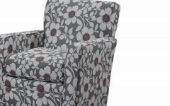 Katrina Blue Swivel Glider Chairs