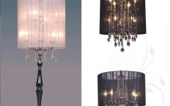 Small Crystal Chandelier Table Lamps