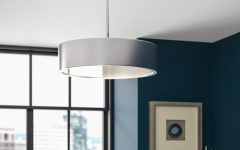 Radtke 3-Light Single Drum Pendants