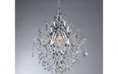 3 Light Crystal Chandeliers