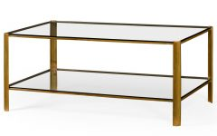 Rectangular Coffee Tables With Brass Legs