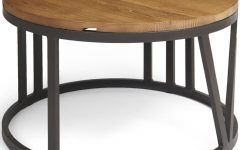 Reclaimed Elm Iron Coffee Tables