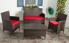 Red Patio Conversation Sets