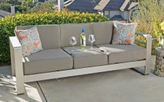 Royalston Patio Sofas with Cushions