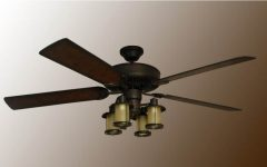 Mission Style Outdoor Ceiling Fans With Lights