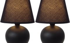 Living Room Table Lamps Sets