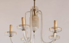 Simple Glass Chandelier